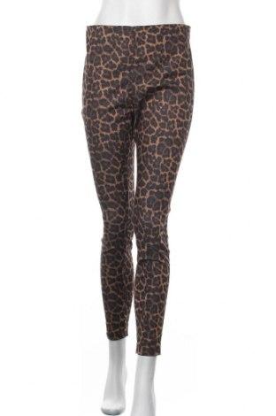 Дамски панталон H&M, Размер L, Цвят Многоцветен, 70% памук, 26% полиестер, 4% еластан, Цена 9,56лв.