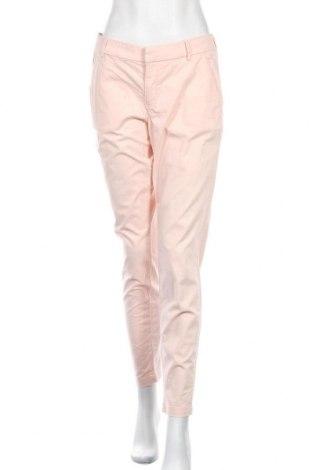 Дамски панталон H&M L.O.G.G., Размер L, Цвят Розов, 97% памук, 3% еластан, Цена 16,17лв.