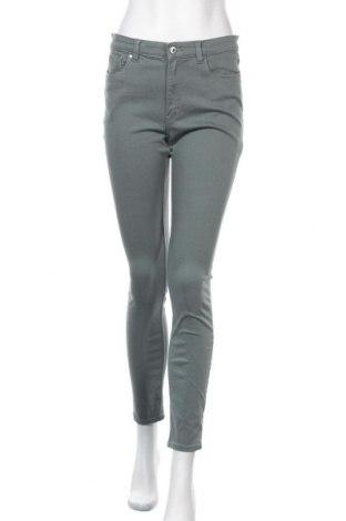 Дамски панталон H&M L.O.G.G., Размер M, Цвят Сив, 65% памук, 32% вискоза, 3% еластан, Цена 14,18лв.