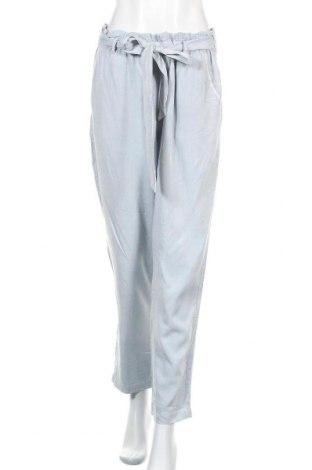 Дамски панталон H&M L.O.G.G., Размер L, Цвят Син, 70% вискоза, 30% лиосел, Цена 25,20лв.