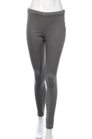 Дамски панталон H&M L.O.G.G., Размер S, Цвят Сив, 65% памук, 32% полиестер, 3% еластан, Цена 13,65лв.