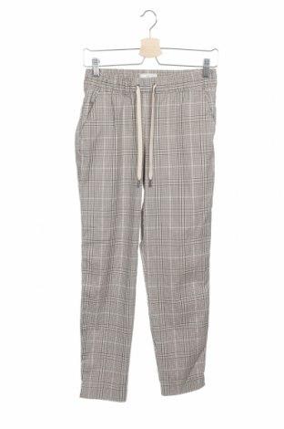 Дамски панталон H&M L.O.G.G., Размер XS, Цвят Бежов, 64% полиестер, 34% вискоза, 2% еластан, Цена 17,64лв.