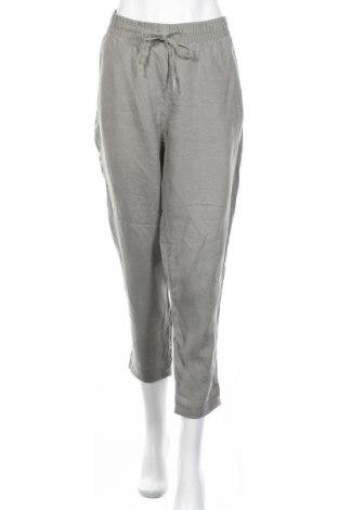 Дамски панталон H&M L.O.G.G., Размер L, Цвят Сив, Цена 17,06лв.