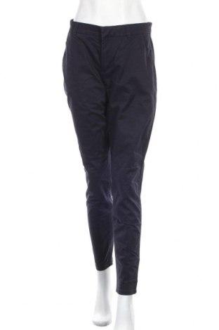 Дамски панталон H&M L.O.G.G., Размер M, Цвят Син, 97% памук, 3% еластан, Цена 16,54лв.