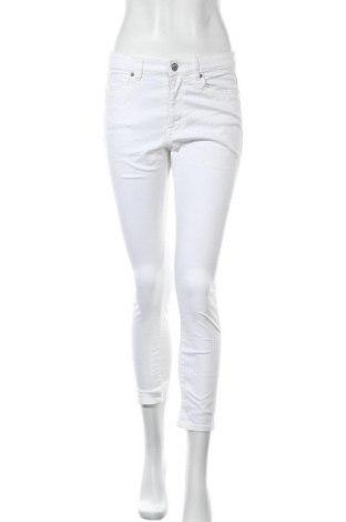 Дамски панталон H&M L.O.G.G., Размер S, Цвят Бял, Цена 16,38лв.
