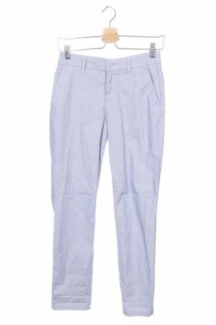 Дамски панталон H&M L.O.G.G., Размер XS, Цвят Син, 97% памук, 3% еластан, Цена 15,44лв.