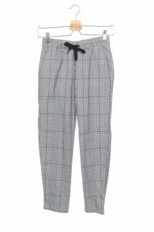 Дамски панталон H&M L.O.G.G., Размер XS, Цвят Многоцветен, 66% полиестер, 32% вискоза, 2% еластан, Цена 17,01лв.