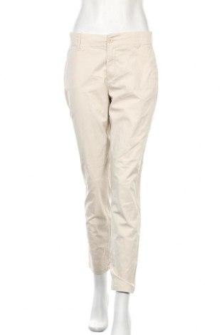 Дамски панталон H&M L.O.G.G., Размер M, Цвят Бежов, 98% памук, 2% еластан, Цена 17,64лв.