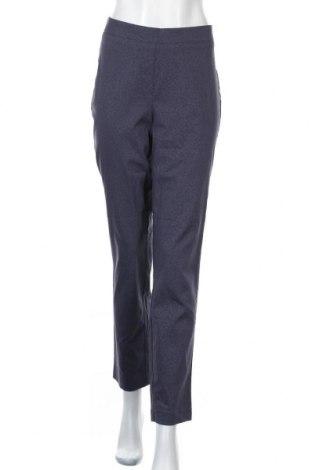 Дамски панталон Helena Vera, Размер XL, Цвят Син, 71% вискоза, 24% полиамид, 5% еластан, Цена 12,14лв.