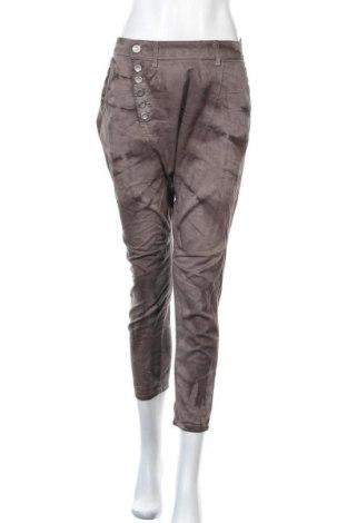 Дамски панталон Imperial, Размер L, Цвят Сив, 98% памук, 2% еластан, Цена 21,32лв.