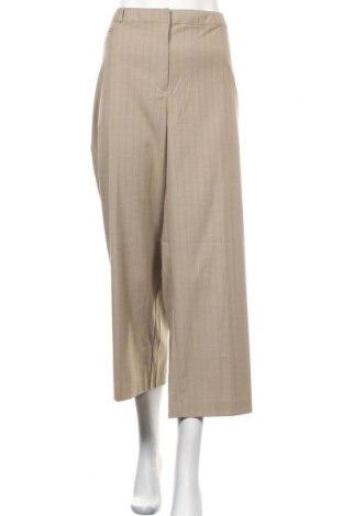 Дамски панталон Jaclyn Smith, Размер XXL, Цвят Бежов, 83% полиестер, 15% вискоза, 2% еластан, Цена 18,11лв.