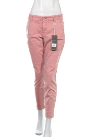 Дамски панталон Just Jeans, Размер L, Цвят Розов, 80% памук, 17% полиестер, 3% еластан, Цена 17,66лв.