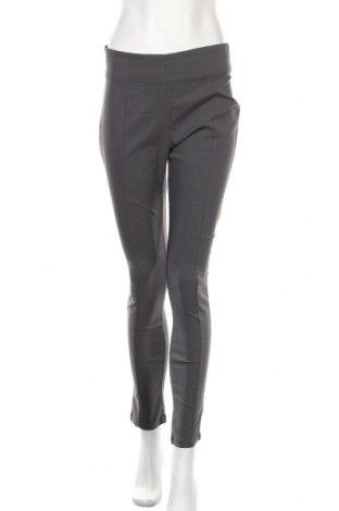 Дамски панталон Laura Torelli, Размер M, Цвят Сив, 74% вискоза, 23% полиамид, 3% еластан, Цена 6,83лв.