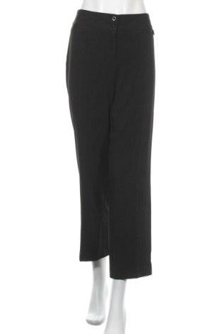 Дамски панталон Liz Jordan, Размер M, Цвят Черен, 95% полиестер, 5% еластан, Цена 3,42лв.
