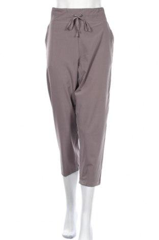 Γυναικείο αθλητικό παντελόνι Marika, Μέγεθος XL, Χρώμα Γκρί, 89% πολυεστέρας, 11% ελαστάνη, Τιμή 11,95€