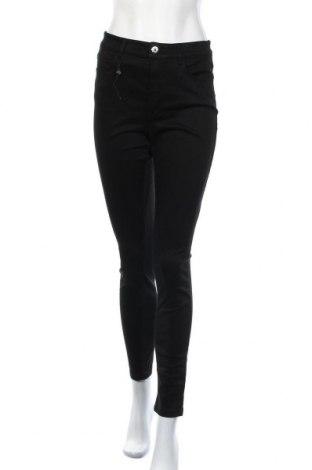Γυναικείο παντελόνι Massimo Dutti, Μέγεθος M, Χρώμα Μαύρο, 67% βαμβάκι, 30% lyocell, 3% ελαστάνη, Τιμή 17,43€