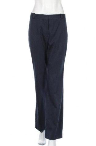 Γυναικείο παντελόνι Massimo Dutti, Μέγεθος M, Χρώμα Μπλέ, 46% πολυεστέρας, 29% μαλλί, 23% βισκόζη, 2% ελαστάνη, Τιμή 16,96€