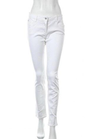 Γυναικείο παντελόνι Million X, Μέγεθος L, Χρώμα Λευκό, 68% βαμβάκι, 30% πολυεστέρας, 2% ελαστάνη, Τιμή 9,09€