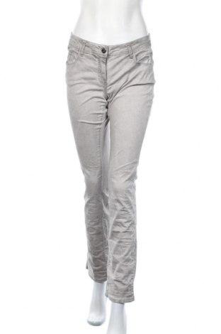 Γυναικείο παντελόνι Million X, Μέγεθος M, Χρώμα Γκρί, 98% βαμβάκι, 2% ελαστάνη, Τιμή 5,91€