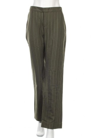 Γυναικείο παντελόνι Noa Noa, Μέγεθος L, Χρώμα Πράσινο, 70% μαλλί, 30% πολυεστέρας, Τιμή 30,28€