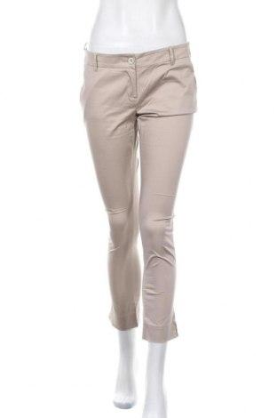 Γυναικείο παντελόνι Nuna Lie, Μέγεθος M, Χρώμα  Μπέζ, 96% βαμβάκι, 4% ελαστάνη, Τιμή 5,91€