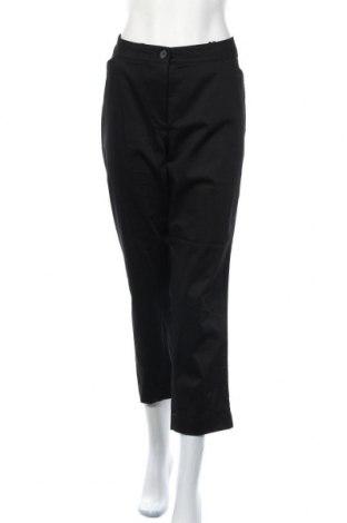 Дамски панталон Peter Hahn, Размер XXL, Цвят Черен, 98% памук, 2% еластан, Цена 81,27лв.