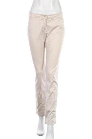 Дамски панталон Playlife, Размер S, Цвят Бежов, 97% памук, 3% еластан, Цена 27,93лв.