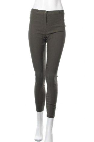 Дамски панталон Primark, Размер M, Цвят Зелен, 78% вискоза, 19% полиамид, 3% еластан, Цена 9,24лв.
