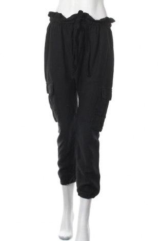Дамски панталон Seed, Размер L, Цвят Черен, Тенсел, Цена 7,35лв.