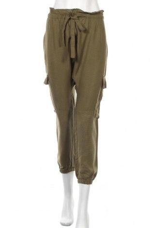 Дамски панталон Seed, Размер L, Цвят Зелен, Тенсел, Цена 18,43лв.