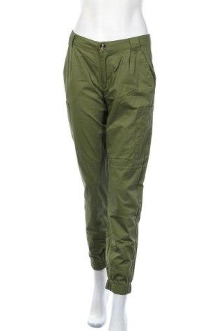 Дамски панталон Sinsay, Размер M, Цвят Зелен, Цена 13,86лв.