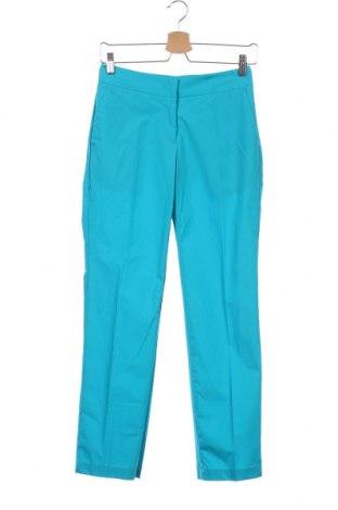 Γυναικείο παντελόνι TWINSET, Μέγεθος XS, Χρώμα Μπλέ, 96% βαμβάκι, 4% ελαστάνη, Τιμή 13,25€