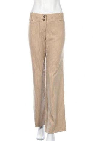 Дамски панталон The Limited, Размер M, Цвят Бежов, 64% полиестер, 33% вискоза, 3% еластан, Цена 19,11лв.