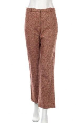 Дамски панталон Turnover, Размер S, Цвят Червен, 85% вълна, 10% полиамид, 4% полиестер, 1% еластан, Цена 19,80лв.