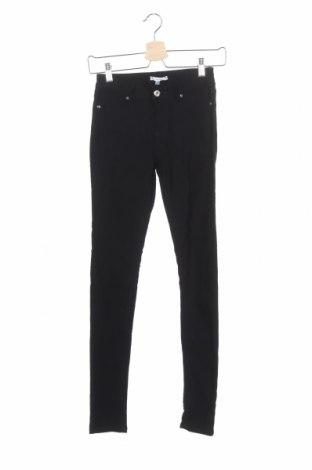 Дамски панталон Valley Girl, Размер XS, Цвят Черен, Памук, еластан, Цена 25,94лв.