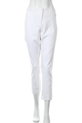 Γυναικείο παντελόνι Worthington, Μέγεθος XL, Χρώμα Λευκό, 80% βαμβάκι, 18% πολυουρεθάνης, 3% ελαστάνη, Τιμή 19,29€