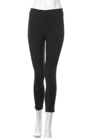 Дамски панталон Xoxo, Размер S, Цвят Черен, 61% полиестер, 34% вискоза, 5% еластан, Цена 12,18лв.