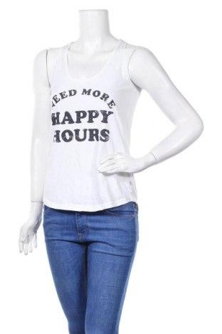 Γυναικείο αμάνικο μπλουζάκι America Today, Μέγεθος XS, Χρώμα Λευκό, Βαμβάκι, Τιμή 3,41€