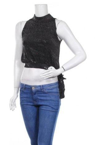 Γυναικείο αμάνικο μπλουζάκι Best Emilie, Μέγεθος S, Χρώμα Μαύρο, Πολυεστέρας, Τιμή 5,20€