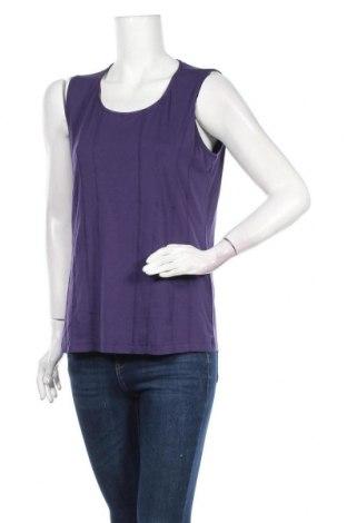 Γυναικείο αμάνικο μπλουζάκι Bonita, Μέγεθος L, Χρώμα Βιολετί, 95% βισκόζη, 5% ελαστάνη, Τιμή 6,82€