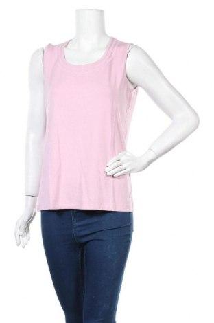 Γυναικείο αμάνικο μπλουζάκι Bonita, Μέγεθος L, Χρώμα Ρόζ , 95% βισκόζη, 5% ελαστάνη, Τιμή 10,39€