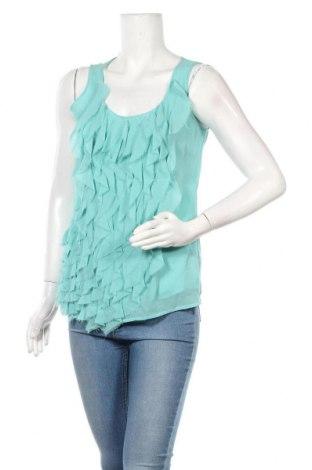 Γυναικείο αμάνικο μπλουζάκι Daniel Hechter, Μέγεθος S, Χρώμα Μπλέ, Τιμή 21,63€