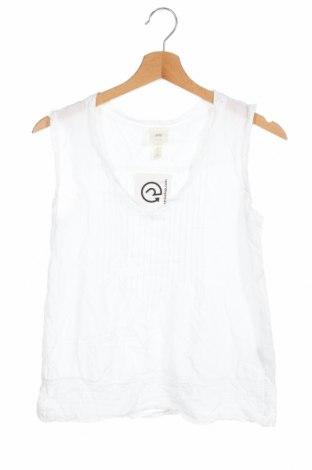 Γυναικείο αμάνικο μπλουζάκι H&M L.O.G.G., Μέγεθος XXS, Χρώμα Λευκό, Βαμβάκι, Τιμή 8,44€