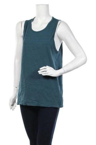Γυναικείο αμάνικο μπλουζάκι H&M Sport, Μέγεθος M, Χρώμα Μπλέ, 66% πολυαμίδη, 34% πολυεστέρας, Τιμή 3,86€