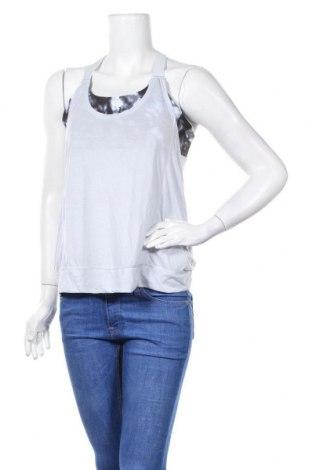 Γυναικείο αμάνικο μπλουζάκι Hyba, Μέγεθος L, Χρώμα Μπλέ, 65% πολυεστέρας, 35% βισκόζη, Τιμή 6,59€