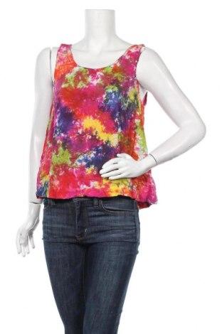 Γυναικείο αμάνικο μπλουζάκι Indiska, Μέγεθος L, Χρώμα Πολύχρωμο, Βισκόζη, Τιμή 7,27€