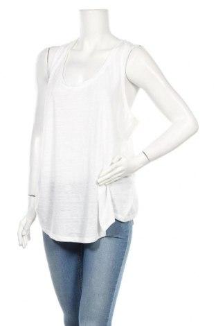 Γυναικείο αμάνικο μπλουζάκι Joe Fresh, Μέγεθος XL, Χρώμα Λευκό, 80% πολυεστέρας, 20% βαμβάκι, Τιμή 6,82€