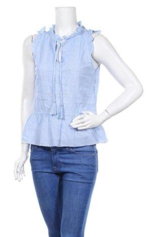 Γυναικείο αμάνικο μπλουζάκι Kookai, Μέγεθος M, Χρώμα Μπλέ, Τιμή 11,04€