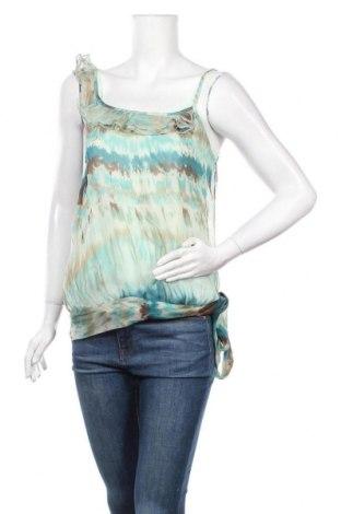 Γυναικείο αμάνικο μπλουζάκι Kookai, Μέγεθος M, Χρώμα Πολύχρωμο, Μετάξι, πολυεστέρας, Τιμή 11,04€