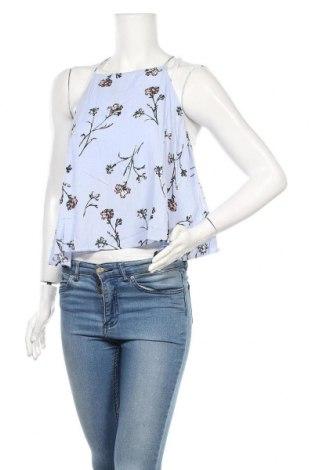 Γυναικείο αμάνικο μπλουζάκι Lush, Μέγεθος M, Χρώμα Μπλέ, Βισκόζη, Τιμή 13,51€
